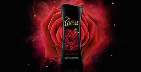 Caress flash web banner thumbnail